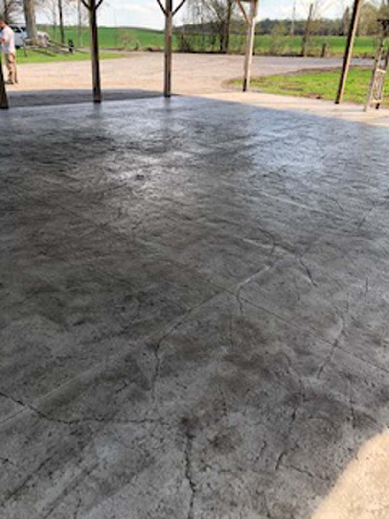 Stamped Decorative Concrete Projects