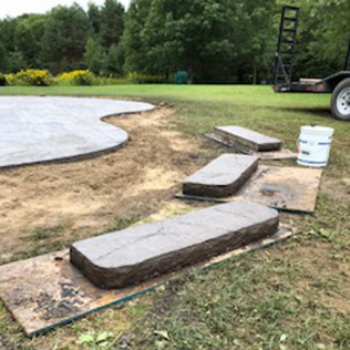 Stamped Concrete, Decorative Concrete, Construction Company<br/>Boonville, NY and Rome, NY